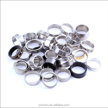 Cheap Wholesale Finger Big Stainless Steel Mens Party Rings Jewelry Mix Style