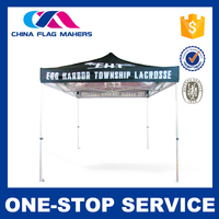 Hot Product Oem / Odm Service 10X10 Folding Advertising Canvas Canopy Tent