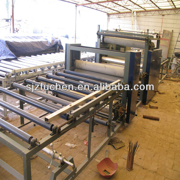 simple operation PVC film lamination equipment