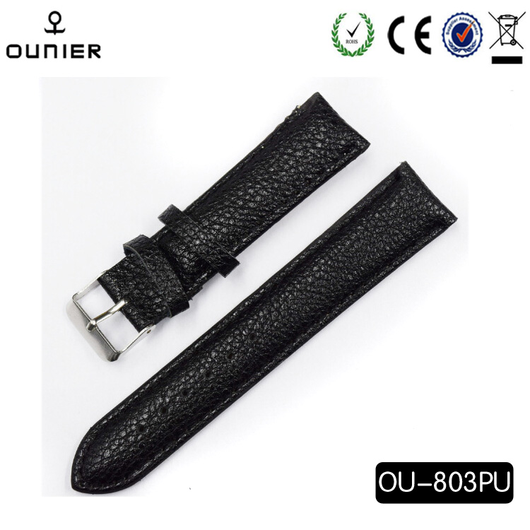 factory wholesales watch band leather OEM fashion leather watch strap