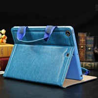 Factory Price 8 Inch PC Leather Cover Case for Lenovo a5500