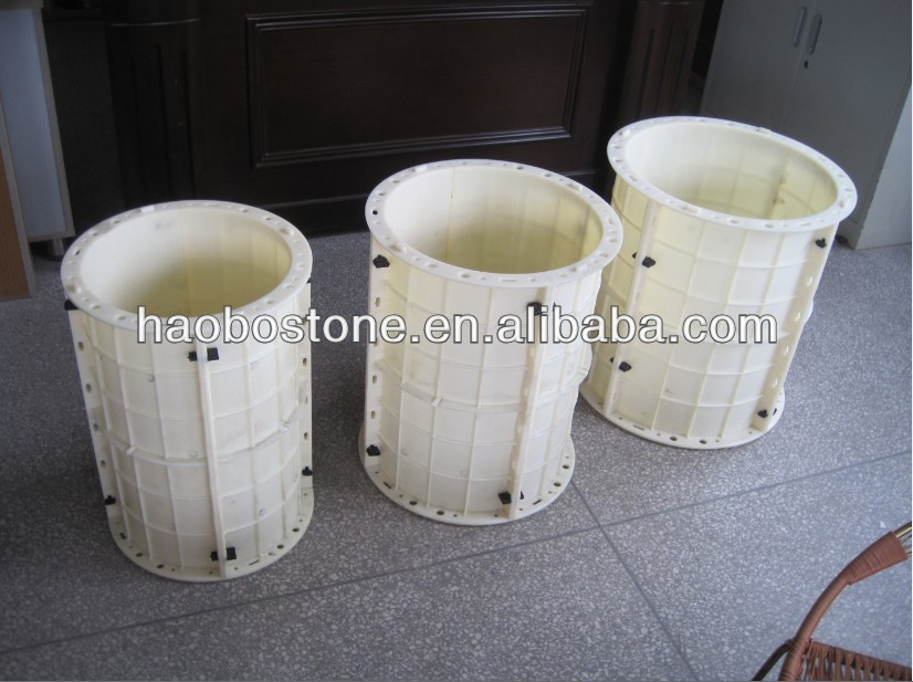 Round Plastic Decorative Column For Construction