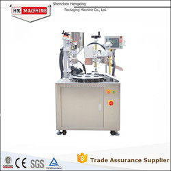 CE Approved HX-006 Cosmetics Tube Sealing Filling Machinery