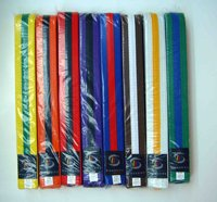 Martial Arts Karate Tae Kowan Do Judo Jiu Jitsu Color Belts TKD Uniform DOBOK Kendo Judo Karate Uniforms