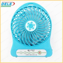 top sale lithium battery operated USB mini handheld ultra quiet desk fan