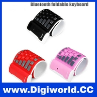 Ultra Thin Soft Silicone Flexible Wireless Bluetooth Foldable Keyboard