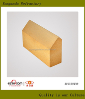 High alumina fire ceiling brick price for steel bucket