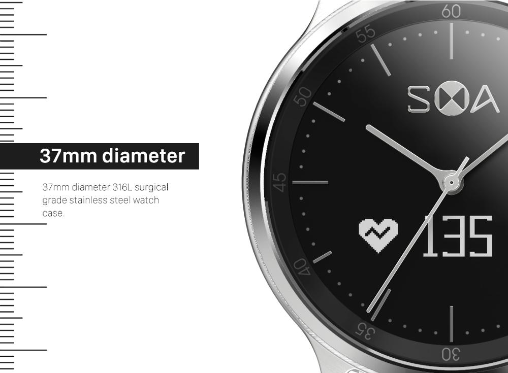 Smart Analog Watch Activity Tracker Digital Watch With Dynamic Heart Rate Monitor