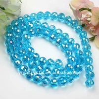 Glass Pressed Crystal Beads 8mm Wholesale