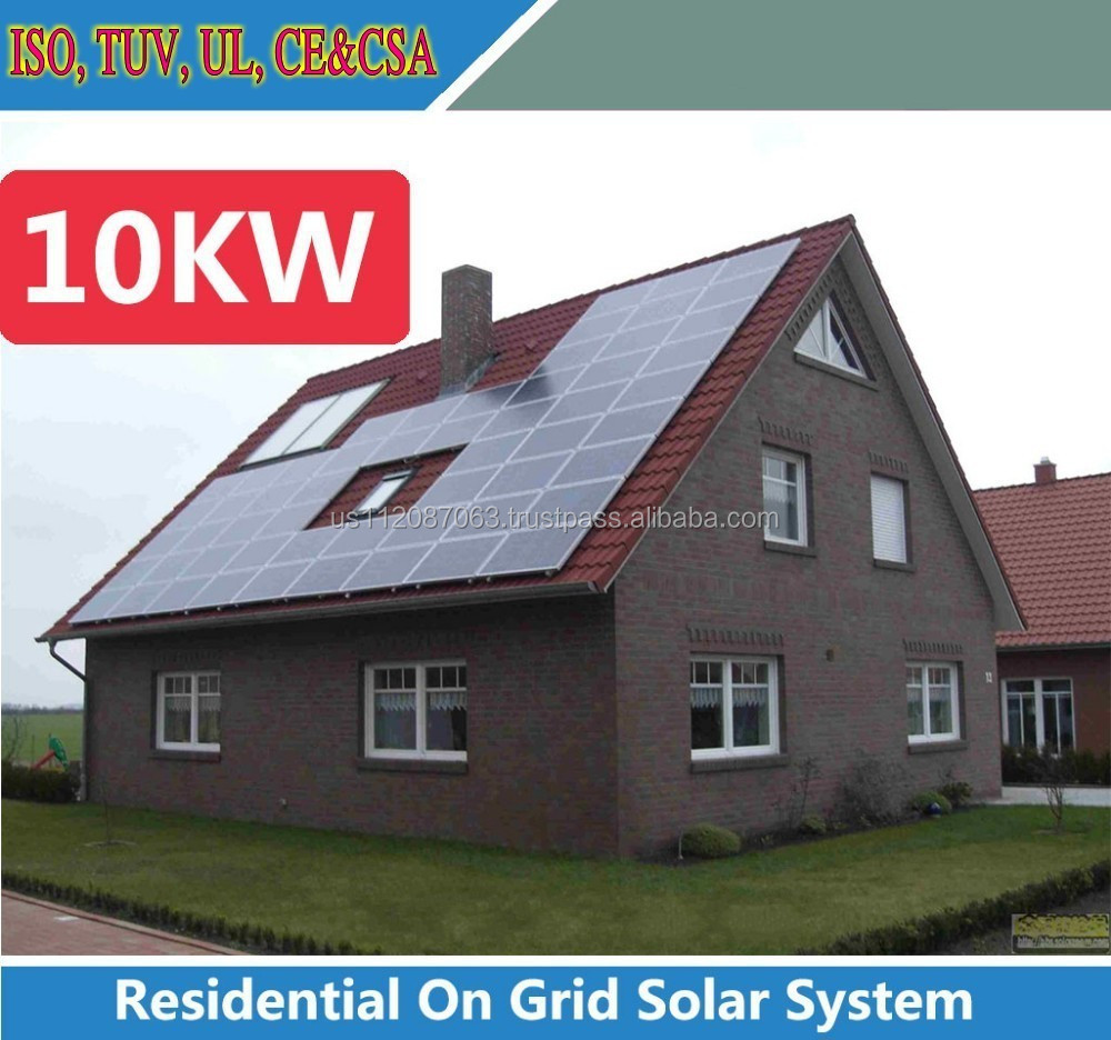 10kw home solar panel lighting kit