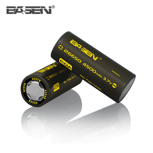 Basen 26650 3.7v 4500mAh Lithium Ion Power Battery 60A 26650 Battery for Hoverboard