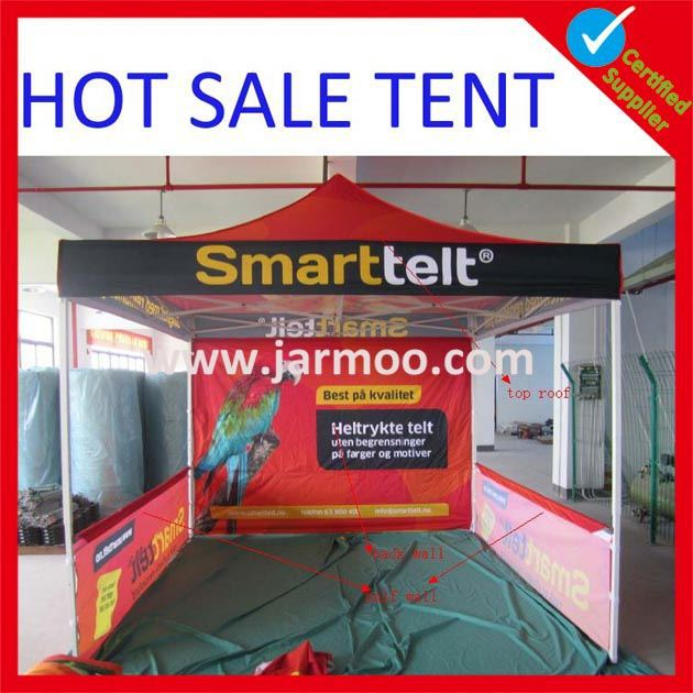 customized standard water proof red gazebo tent