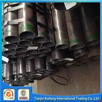 Plastic stainless seamless fluid steel pipe made in China