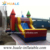 Sports commercial inflatable combo bouncer with slide