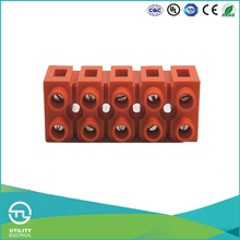UTL High Quality Orange Base Type Fiber Optic Terminal Block Standard G Type Din Rail Terminal