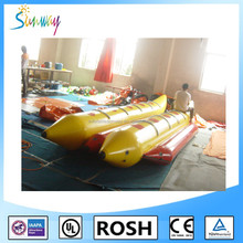Customizable PVC Inflatable Fishing Pontoon Boat For Sale