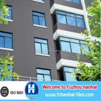 100*200mm 140*280mm 200*400mm Good quality Exterior Brick Wall Tiles /Outside Wall Tiles