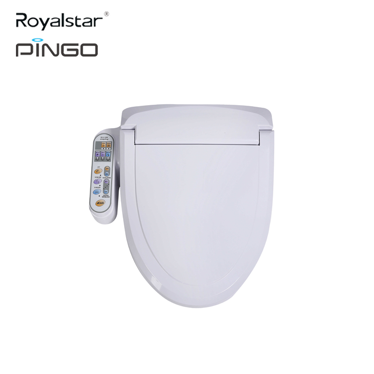 Electronic smart toielt in China smart bidet Washlet Auto Function Electric toilet lid seats covers