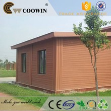 coowin wpc design house DIY exterial wall panel siding