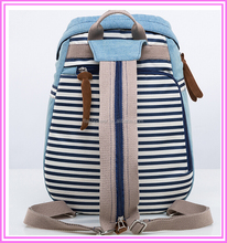 Custome Waterproof Canvas School Backpack