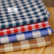 Plaid fabric for garments&home textile