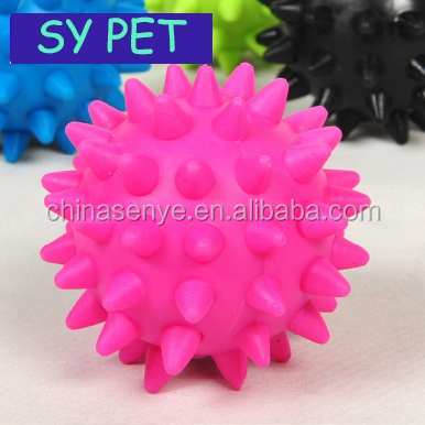 charming interactive cartoon animal sex pet toy/ Rubber elastic ball elastic dog toys
