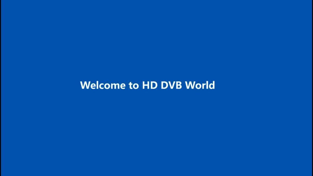 Personalizado Universa Caixa de Tv Digital Caixa de Receptor de Satélite Terrestre