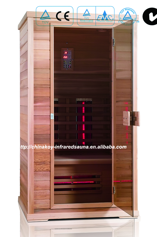 2016 Hot sale-Themal life far infrared sauna rooms for 1 person 01-K6