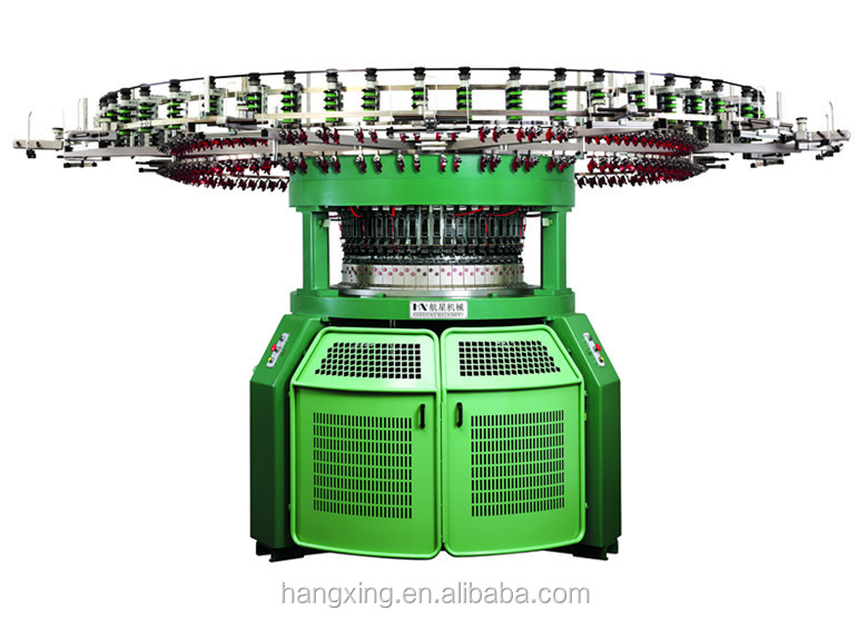 Computerized 4/6 Colors Tubular Knit Fabric Auto Stripper Machine
