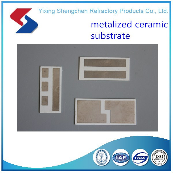 metallized ceramic /alumina substrate /sheet with Mo-Mn on both side