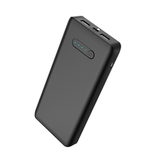 Promotional TYPE C Dual USB mobile battery Rohs 20000mah power bank for lenovo p780 and all mobiles
