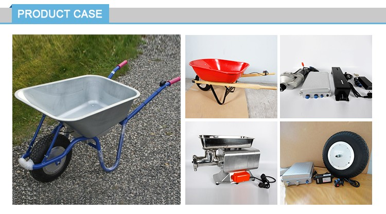 battery powered power electric garden wheelbarrow conversion kit