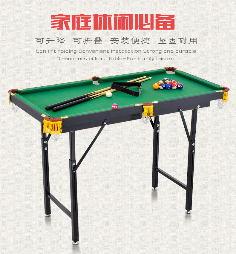 Child snooker table household folding lift for 12ft snooker table for sale