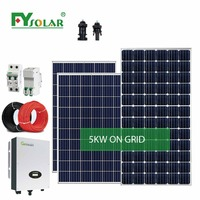 5KW Pv Solar System Roof Mount Solar Tracking System Solar System Price 5000w
