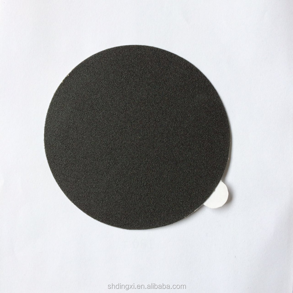 Grit 120 Silicon Carbide Waterproof Black Adhensive Abrasive Paper Disc