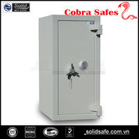 steel safe box, 2 hours fire resistant burglary safe