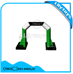 Inflatable floating arch, water park element, cheap inflatable water toys