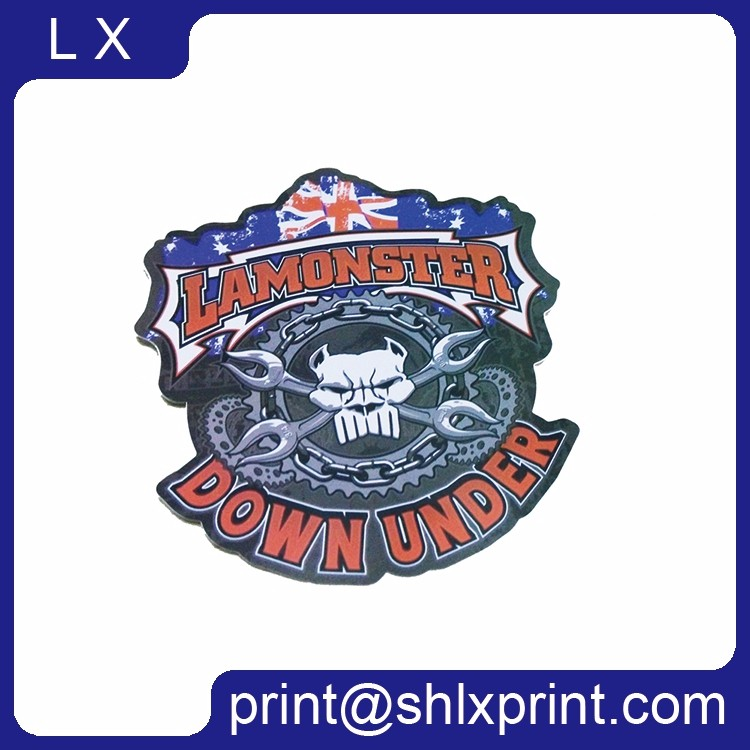 Custom Printed Waterproof Adhesive Die-Cut PVC Brand Logo Sticker For Sale