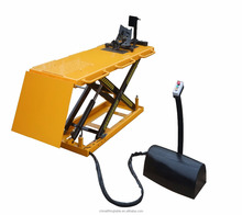 Electric Motorcycle lift table Hydraulic Scissor Lift stand
