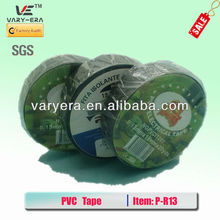 High quality 0.18mm*19mm*30m Colors Electrical Insulation PVC tape