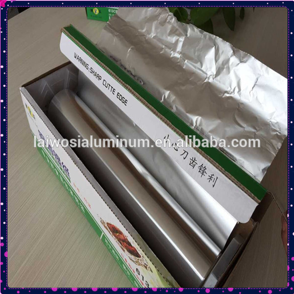 100m x 30cm Disposable Food Service Jumbo Roll Household Aluminum Foil