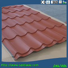 Chinese curving galvanized concrete zinc galvanized roof tile