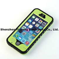 100% Waterproof Shockproof pvc Case Cover For Apple iPhone 5S 5G high quality waterproof case