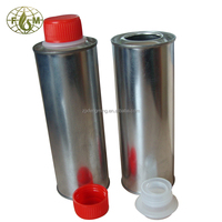 Metal tin can, oil additive can for chemical use