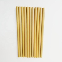Wholesale 100% Biodegradable Customized Logo Reusable Organic Natural Bamboo Drinking Straws
