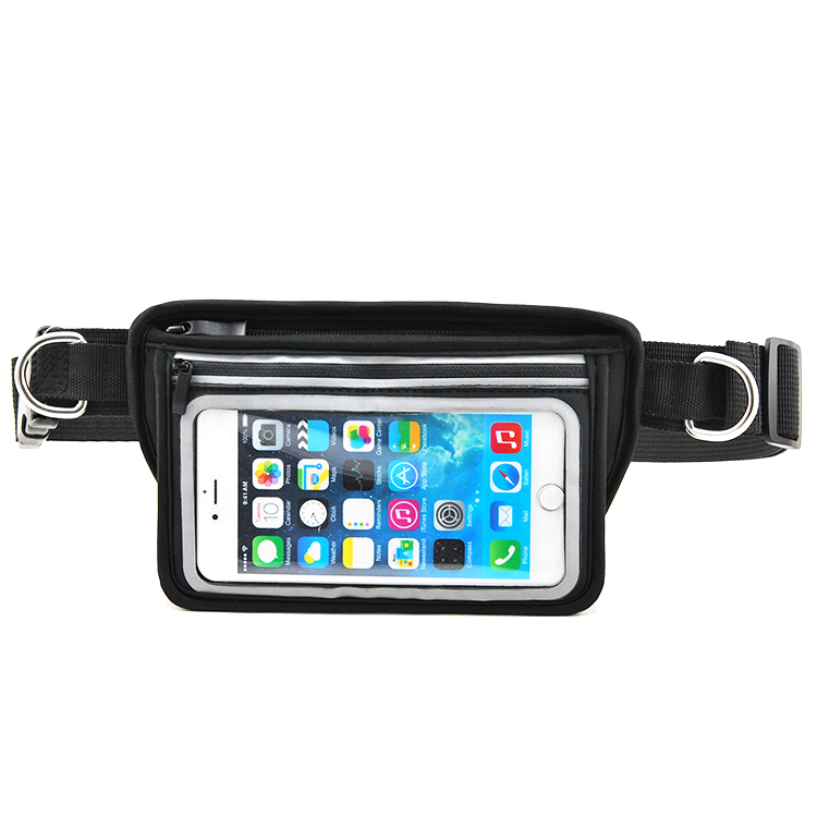 Running Jogging Walking Hands Free Dog Leash Waist Bags