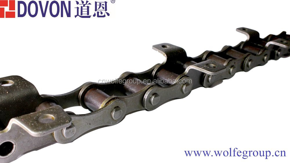 40Mn Industrial chains with A1 attachment Industrial chain A B series roller chain