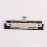 (China suppliers)12cm smooth large metal clip /binder clips with the plastic angle ,and hook