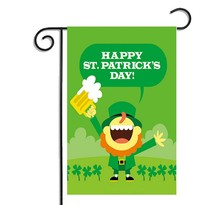 Amazon Hot Selling Custom Outdoor St. Patrick's Day Celebration Decoration Garden Flag