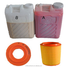 two component Polyurethane adhesive for air filter